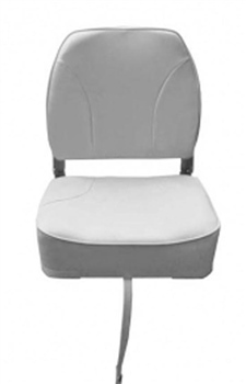 Waveline Deluxe Low Back Folding Boat Seat  - Click to view a larger image