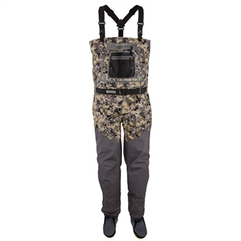 Hodgman Aesis Sonic Digital Camo Stocking Foot Chest Wader