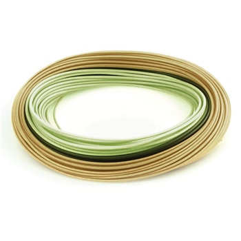 RIO InTouch Perception Green/Camo/Tan Fly Line
