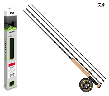 Daiwa S4 Fly Combo  - Click to view a larger image