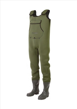Daiwa Neoprene Rubber Foot Chest Wader  - Click to view a larger image