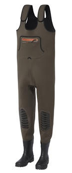 Scierra Kenai Boot Foot Cleated Neoprene Chest Waders  - Click to view a larger image