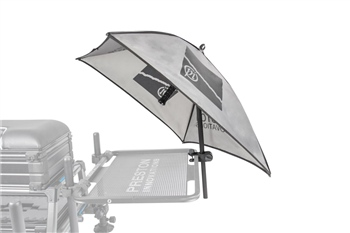 Preston Innovations Offbox Grey Bait Brolly  - Click to view a larger image