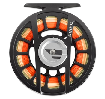 Orvis Hydros Black Fly Reel  - Click to view a larger image