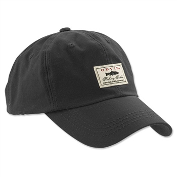 Orvis Vintage Waxed-Cotton Ball Cap  - Click to view a larger image