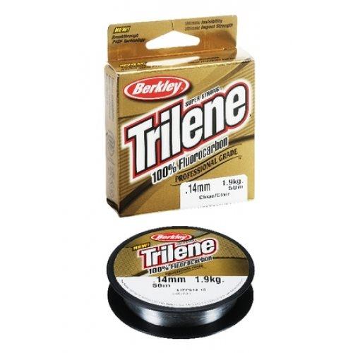 Trilene Fluorocarbon - Clear 110Yd - 0 18mm 4lb