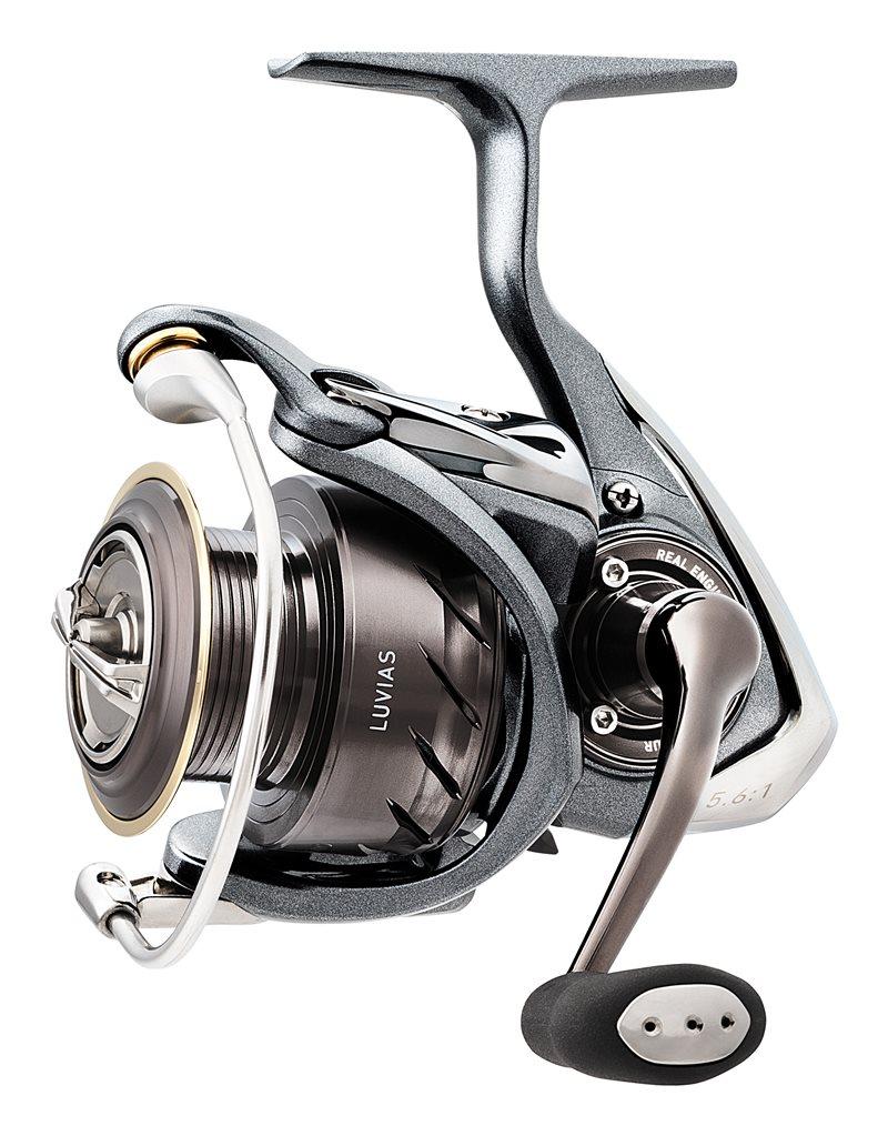Daiwa luvias fishing reels all sizes 2017 range ebay for Fishing reel sizes