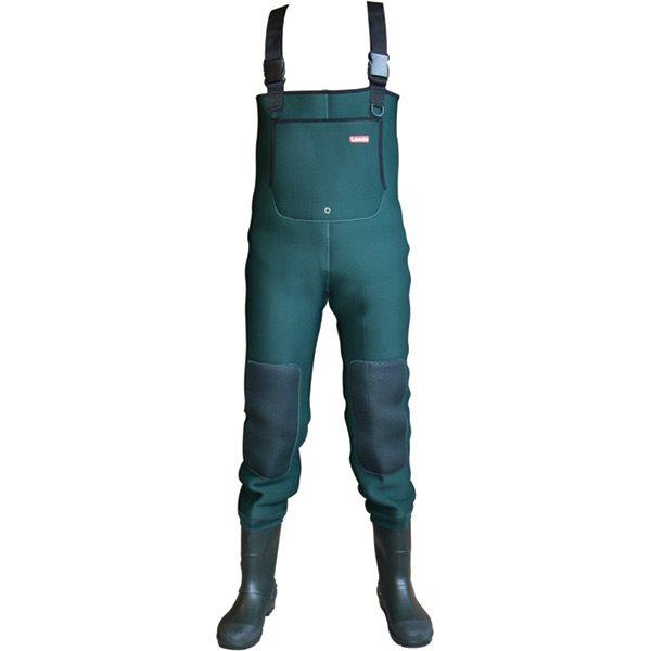 Leeda Neoprene PVC Chest Waders PVC Neoprene Stiefel Cleated Sole - All Größes 593720