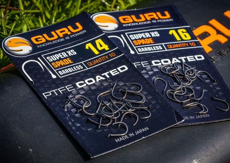 Guru Match /& Coarse Fishing Super LWG Hooks Eyed /& Spade All Sizes